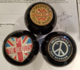 The Beatles Collection Shift Knob (Sgt Peppers, UK Heart Flag, Peace Love)