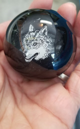 Lone Wolf  Bottle Cap Shift Knob