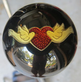 "Dove's Heart ""Love"" Shift Knob"