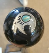 Native  Bear Turquoise Bead Shift Knob