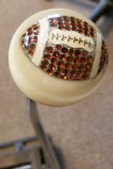 Rhinestone FOOTBALL Fan Shift Knob