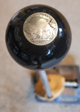 Vintage Buffalo Five Cents Nickel Shift Knob