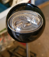 Trout Angler Fisherman Shift Knob #2