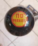 """NO PARKING"" Vintage Button Shift Knob"