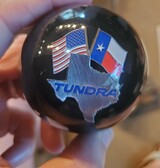 TOYOTA Tundra Texas Truck Flags Pin Shift Knob