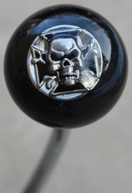 Iron Cross and Skull - Chrome Shift Knob