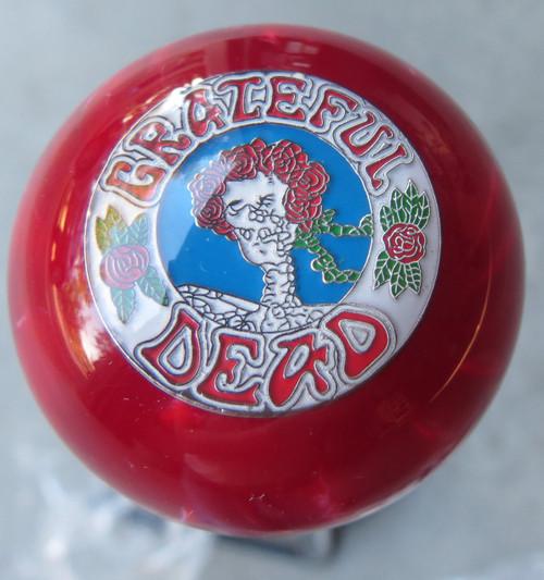 Grateful Dead Shift Knob Skull & Roses