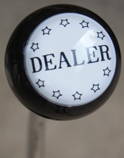 """Vintage """"Dealer"""" Badge Shift Knob"""