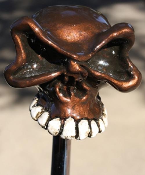 Big Eyed Half Skull Shift Knob