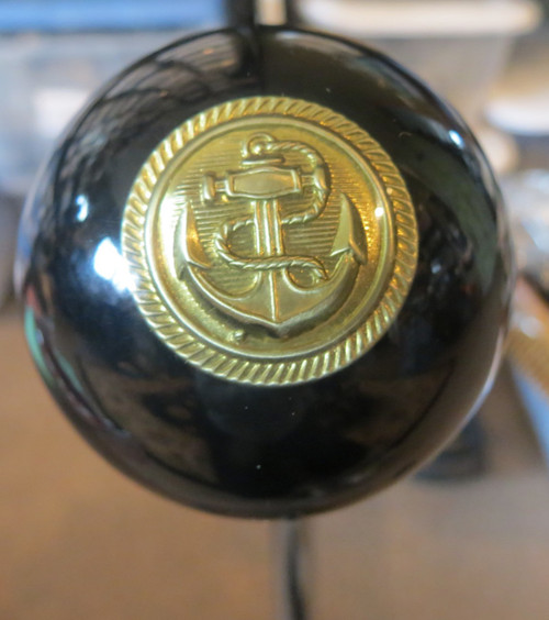 Navy Brass Anchor Shift Knob