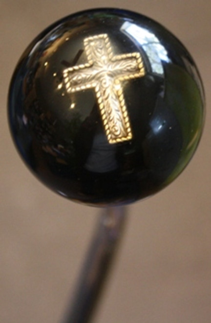 Small Christian Cross Shift Knob
