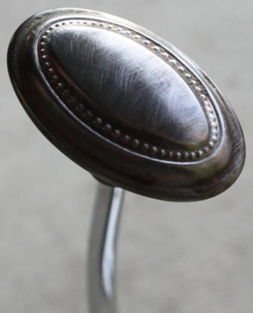 Vintage Oval Metal Door Knob Shift Knob
