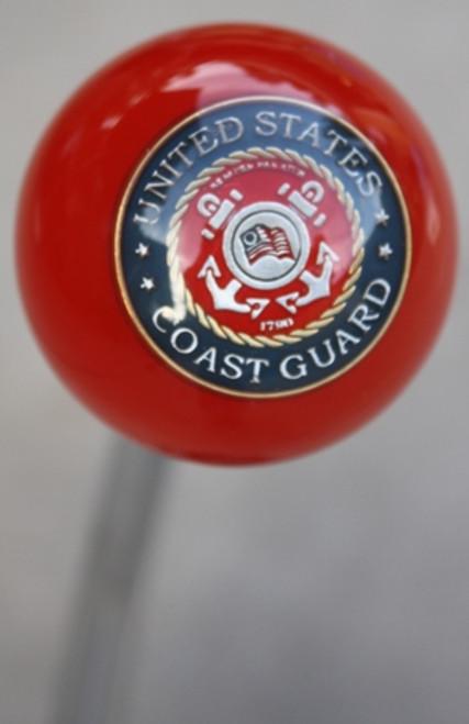 United States Coast Guard Red Shift Knob