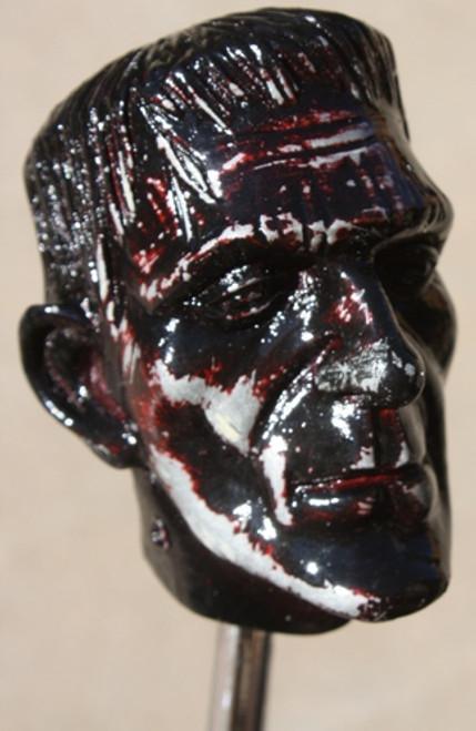 """""""Blood Stone"""" Distressed Frankenstein Shift Knob"""