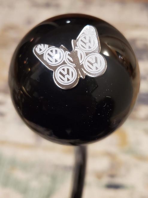 Volkswagen VW Butterfly Emblem Shift Knob