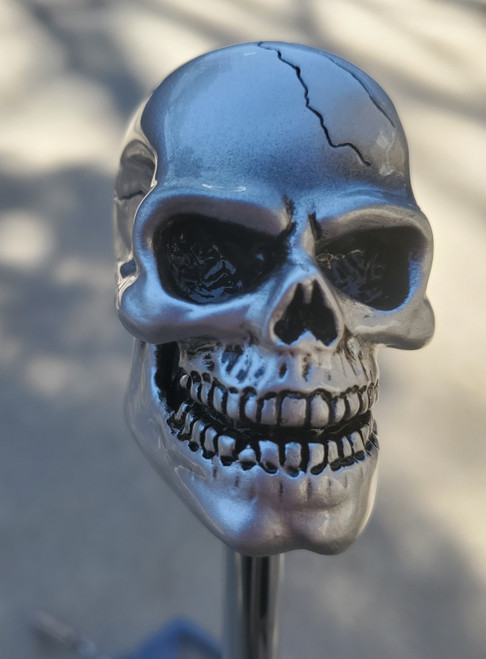 Awesome Pewter Color Skull