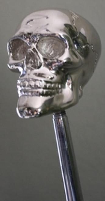 Chrome Skull Shift Knob