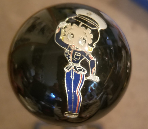 USA Military Betty Boop Shift Knob
