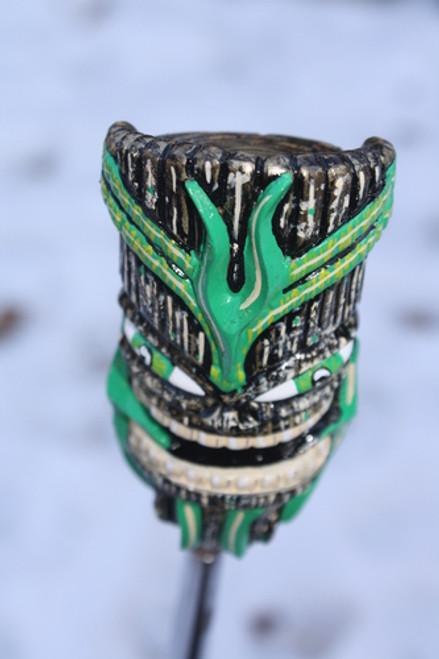 Cool Colorful Hand Painted Resin Tiki God #2