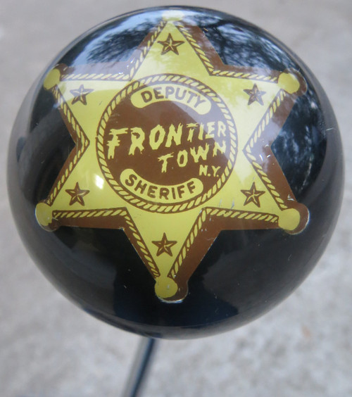 """Deputy Sheriff Frontier Town KY Badge Shift Knob 2 1/2"""""""