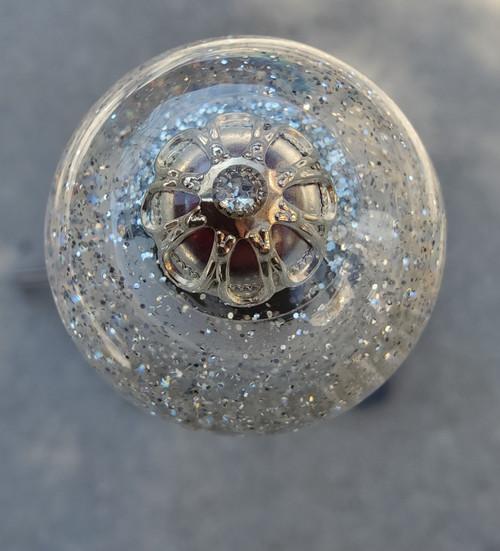 Gorgeous Vintage Earring embedded deep inside knob.