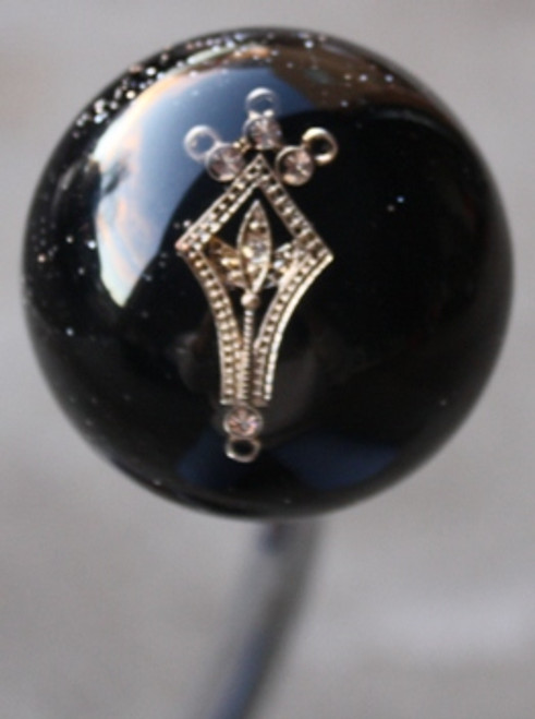 Black Sparkle Rhinestone Shift Knob