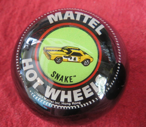 "Vintage Hot Wheels ""Custom Snake"" Funny Car Shift Knob"