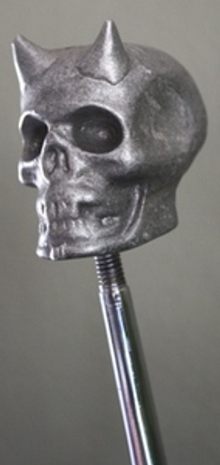 Ol' Skool Primal Cast Skull w/ Devil Horns