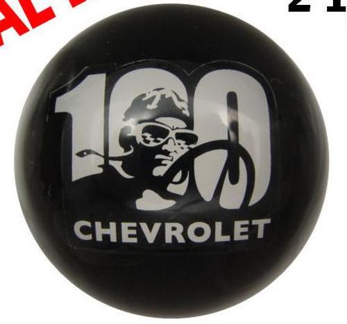 Chevrolet 100th Year Anniversary Shift Knob