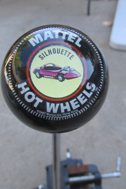 Vintage Mattel Hot Wheels - Silhouette Shift Knob