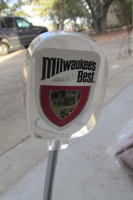 Milwaukee's Best Beer Tap