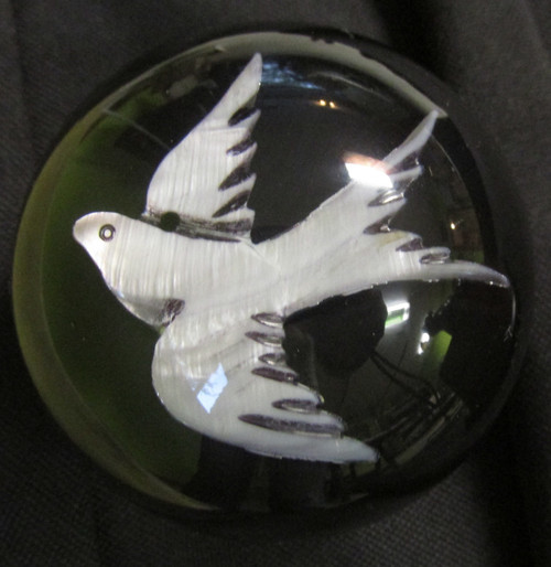 """Gorgeous Mother of Pearl Swallow/Dove Bird (Large 3"""")"""