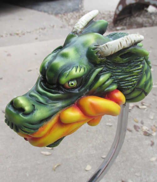 Van Chase Large Tattoo Dragon Shift Knob