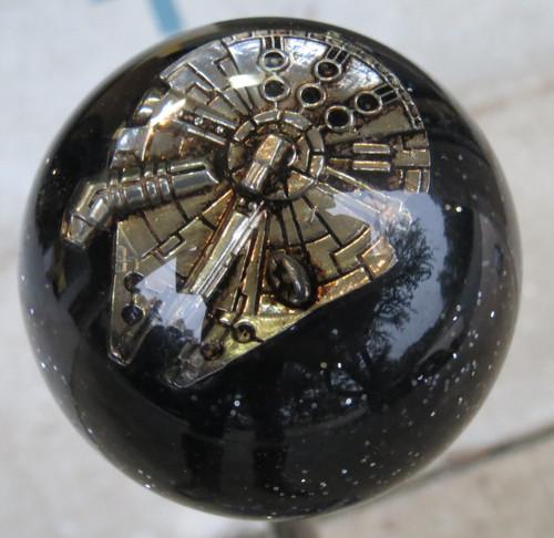 a one-of-a-kind shift knob