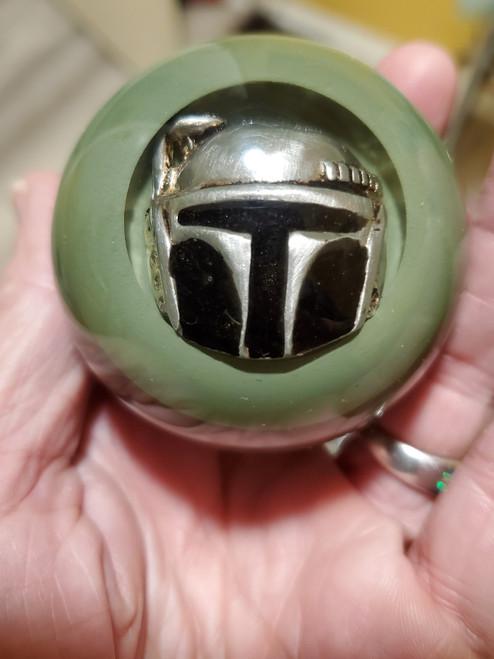 Star Wars  Boba Fett Helmet Shift Knob