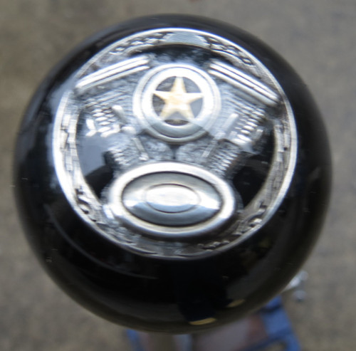 Twin V Motorcycle Engine Shift Knob