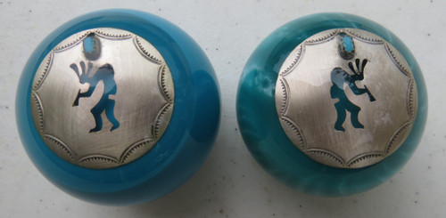 2 styles - pearl turquoise or solid turquoise