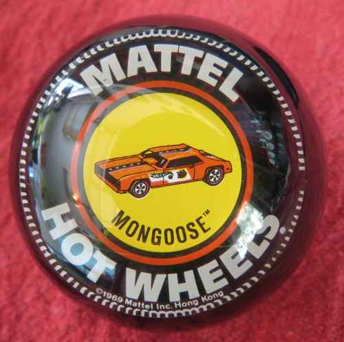 "Vintage Hot Wheels ""Mongoose Funny Car"" Shift Knob"
