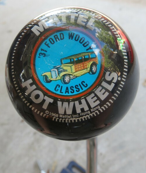 VINTAGE MATTEL HOT WHEELS '31 Ford Woody Classic SHIFT KNOB