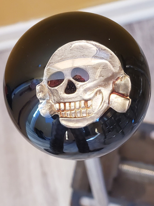 WWII SS TOTENKOPF DEATH HEAD Skull Shift Knob