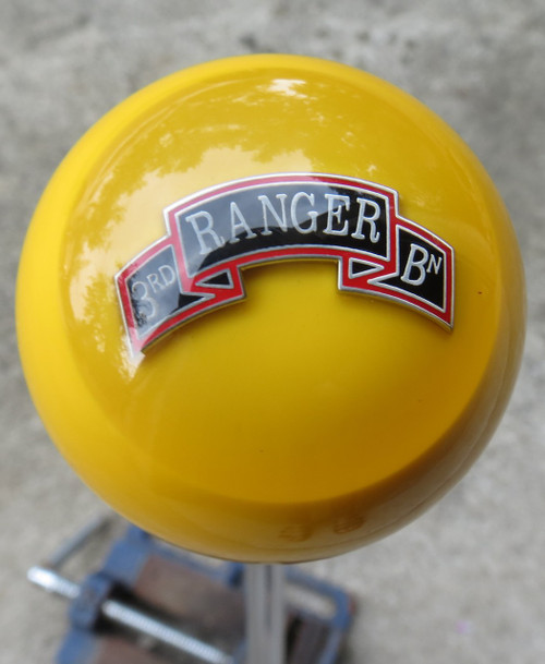 US Army 3rd Ranger Battalion Shift Knob 3/16-18 ONLY
