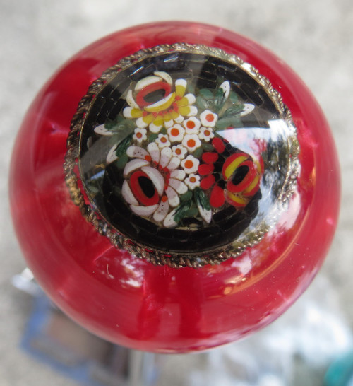 Have a vintage brooch embedded inside a shift knob. Call us 512-773-2674