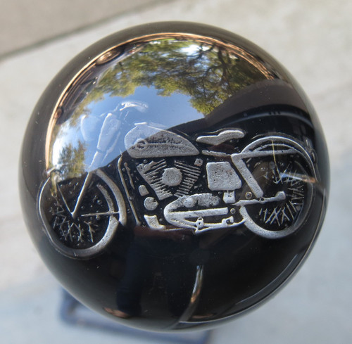 Old Pewter Motorcycle Shift Knob