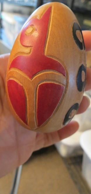 Native American Folk Art Wooden Shift Knob
