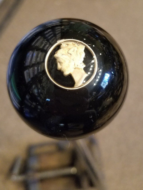 Vintage Mercury Dime coin Coin $ Shift  Knob