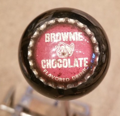 Brownie Chocolate Flavored Drink Soda Cap Shift Knob