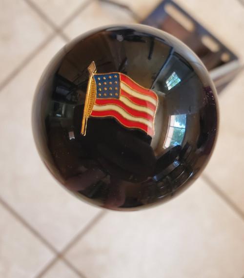 USA Waving Flag Patriotic Shift Knob