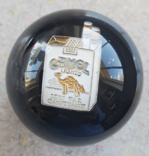 Camel Lights Cigarette Shift Knob