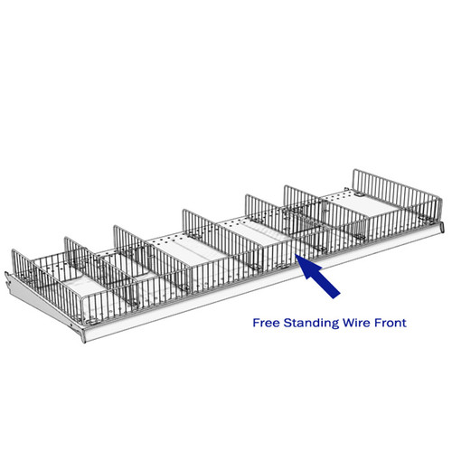 Free Standing Wire Fronts