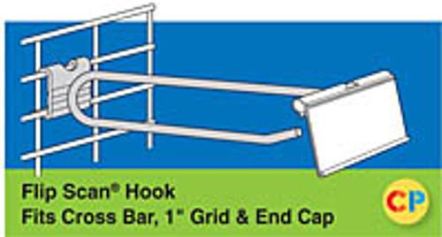 Power Panel End Cap Flip Scan Metal Scan Hook